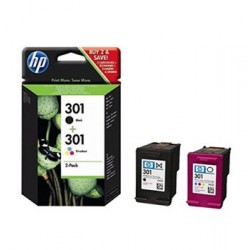 HP 301 Sort & Farve...