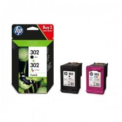 HP 302 Sort & Farve Sampak...