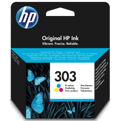 HP 303 Farve Blækpatron